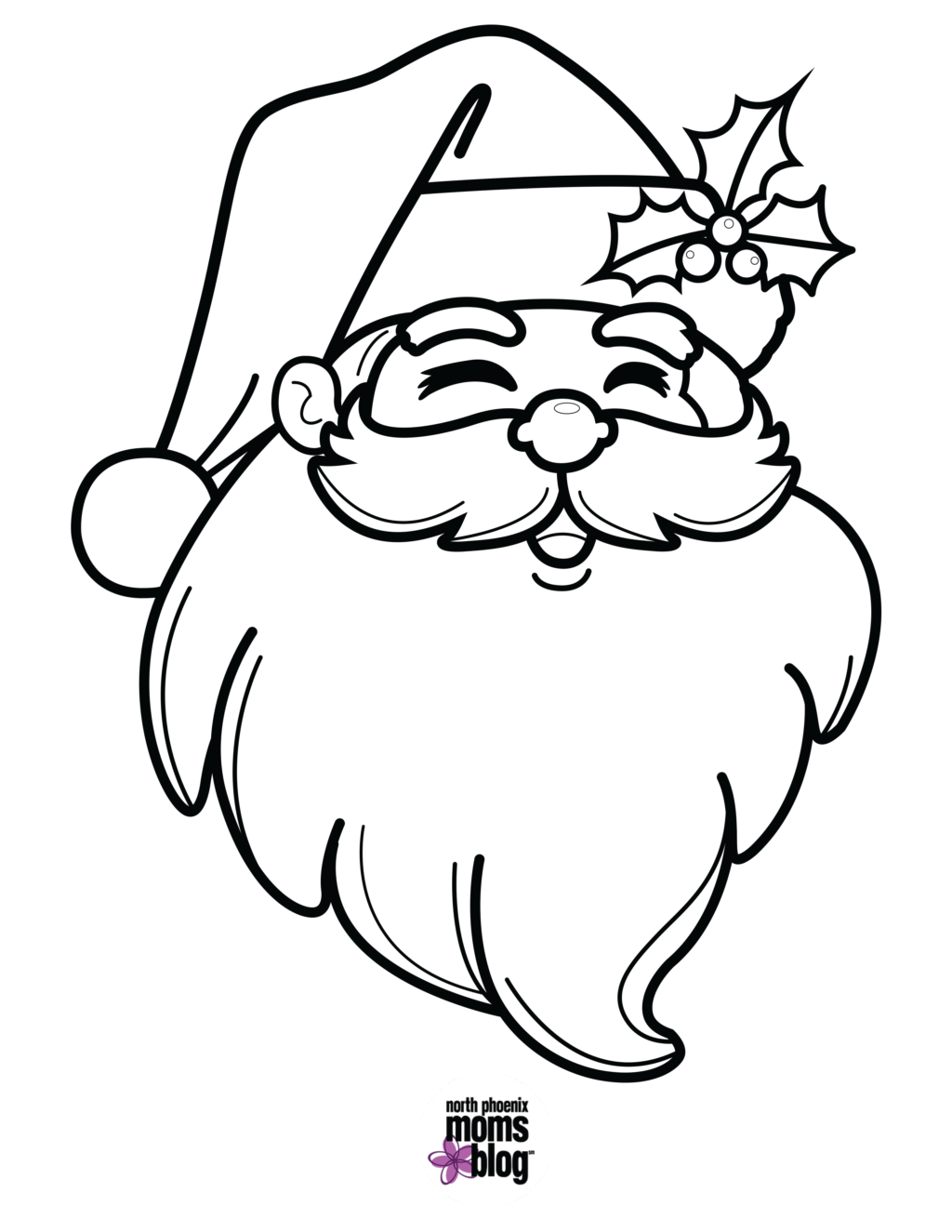 Santa Color By Number Christmas batman pitchers coloring pages