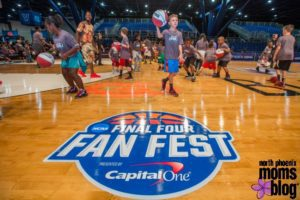 NCAA Final Four Fan Fest North Phoenix Moms Blog