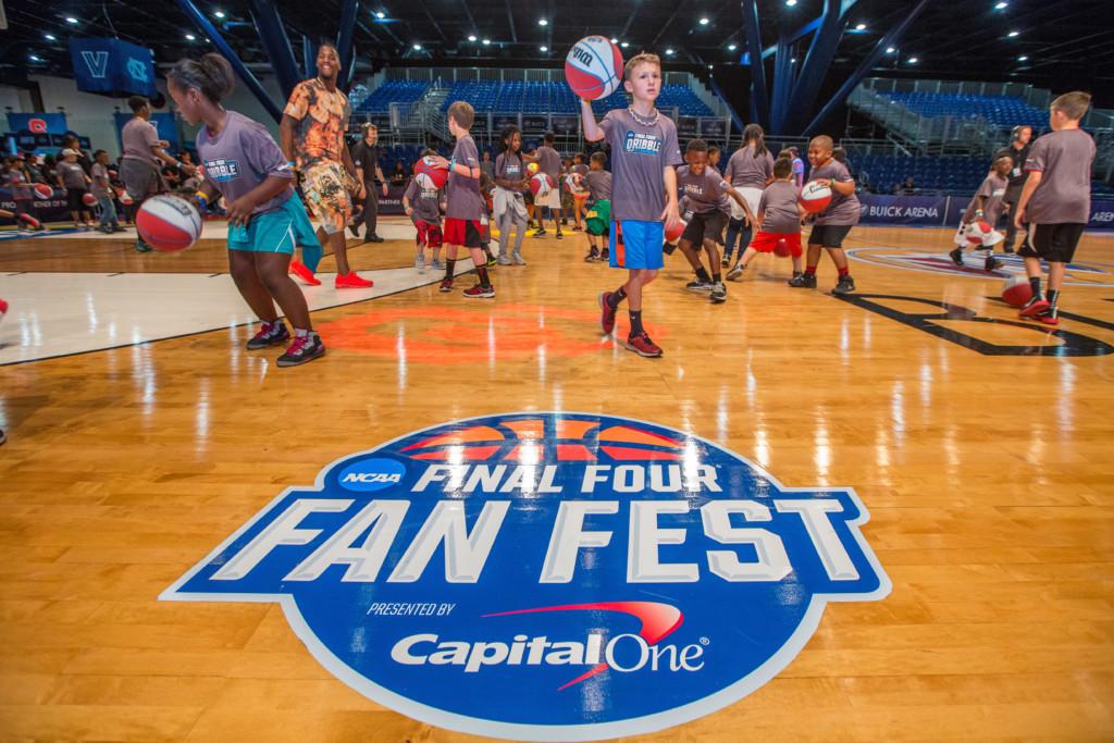 NCAA Final Four Fan Fest North Phoenix Moms Blog
