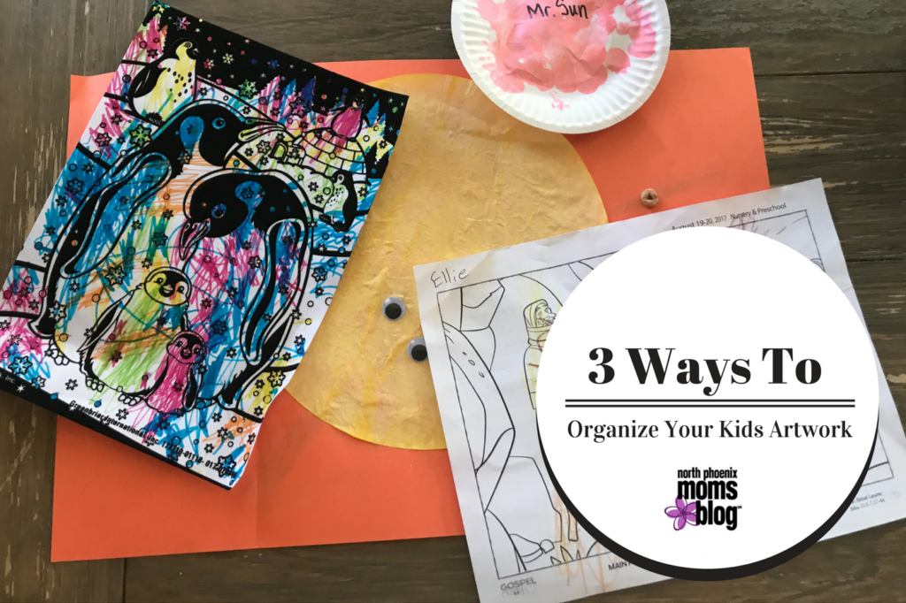What To Do With All Of Your Kids Artwork