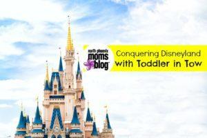 disneyland with toddler