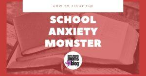 school anxiety monster