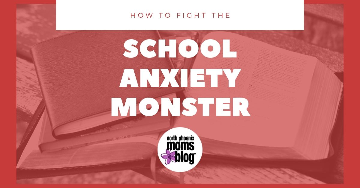 school anxiety monster