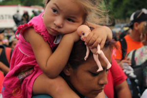 blankets for babies at the border