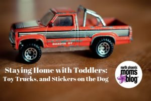 Staying home with toddlers