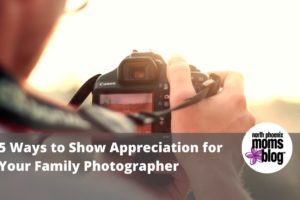 show appreciation family photographer