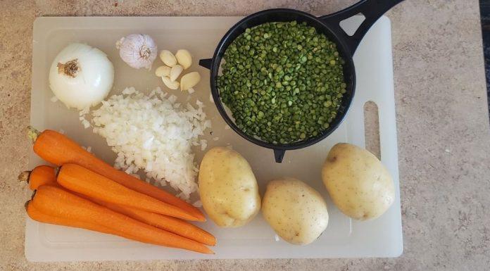 perfect pea soup