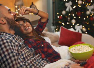 christmas movie date night in
