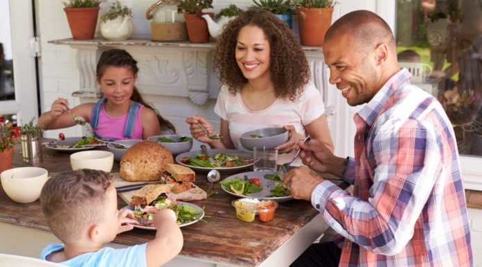 dinner with your kids