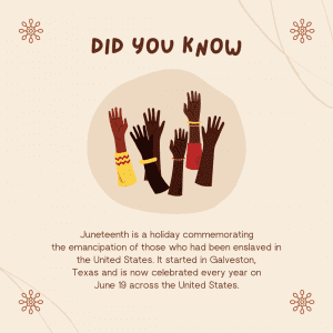 Juneteenth Did you know?